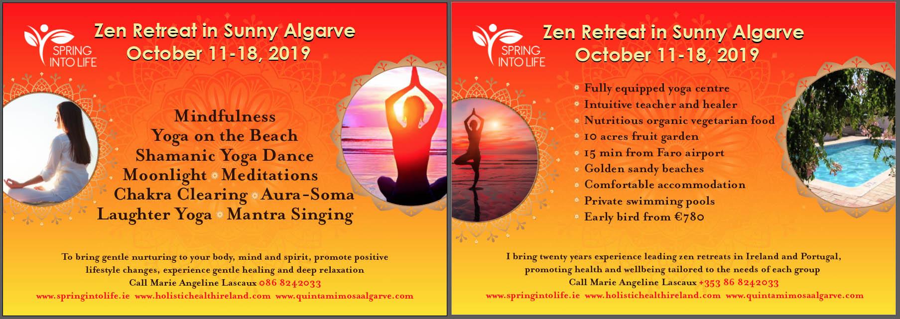 zen retreat yoga holiday ireland