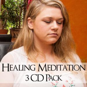 healing meditation 3 cd pack