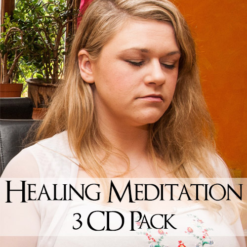 healing meditation 3 cd pack