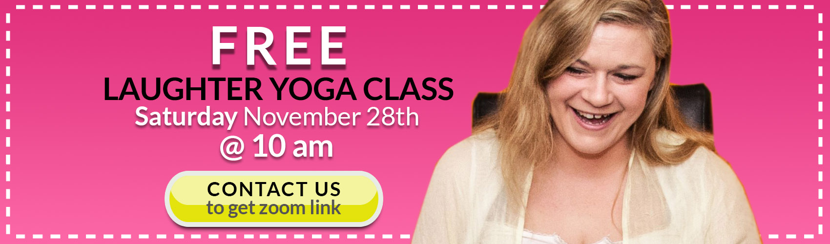 free laughter yoga class ireland
